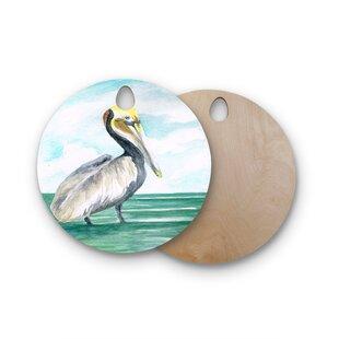 Rosie Birchwood Pelican Coastal Cutting Board ByEast Urban Home