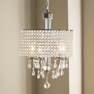 Oldman 4-Light Crystal Chandelier by House of Hampton
