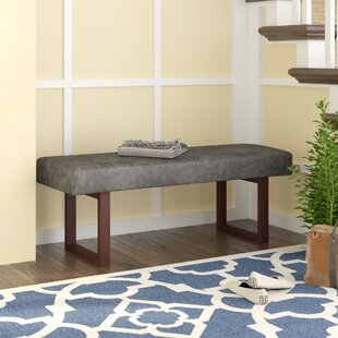 Cielito Faux Leather Bench