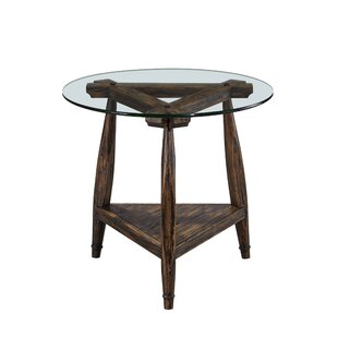 Union Rustic Partin End Table
