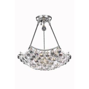 Troas 8-Light Crystal Chandelier
