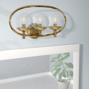 Mercury Row Bynoe 3-Light Vanity Light