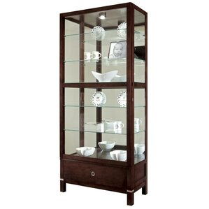 Williamson Lighted Curio Cabinet by Ho..