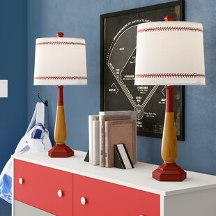 Odysseus Baseball 26 Table Lamp (Set of 2)