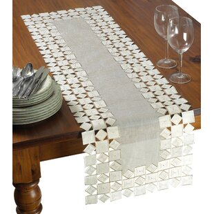 Irene Embroidered Table Runner