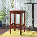 Beechwood Square Backless Wood Seat Bar & Counter Stool by Regal