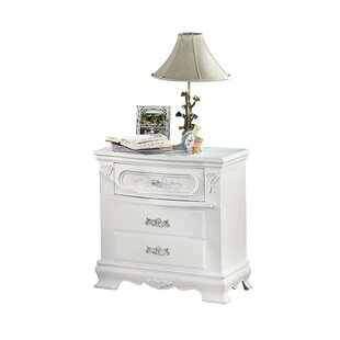 Read Reviews Schaub 2 Drawer Nightstand by Harriet Bee Reviews (2019) & Buyer's Guide