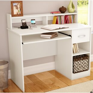 Genial Computer Desk With Tower Shelf | Wayfair