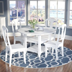 Harwick 5 Piece Dining Set Alcott Hill