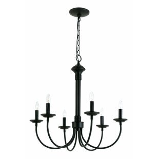 Laurel Foundry Modern Farmhouse Shaylee 6-Light Chandelier