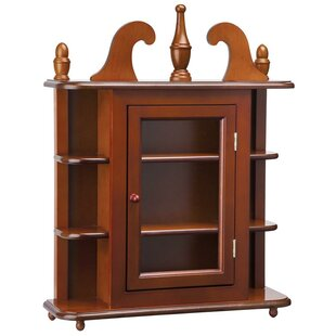 Design Toscano Savile Row Hardwood Wall Mounted Curio Cabinet