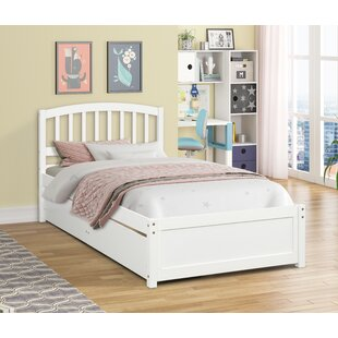 Providence Twin Platform Bed with 2 Drawers by Harriet Bee
