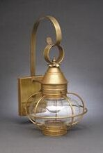 Compare prices Onion 1-Light Outdoor Wall Lantern By Northeast Lantern