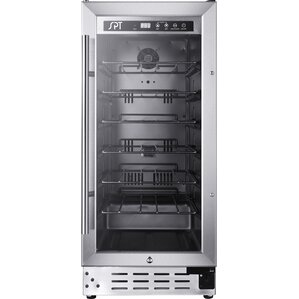 33 Bottle Single Zone Freestanding Wine Cooler by Sunpentown