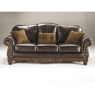 North Shore Leather Sofa
