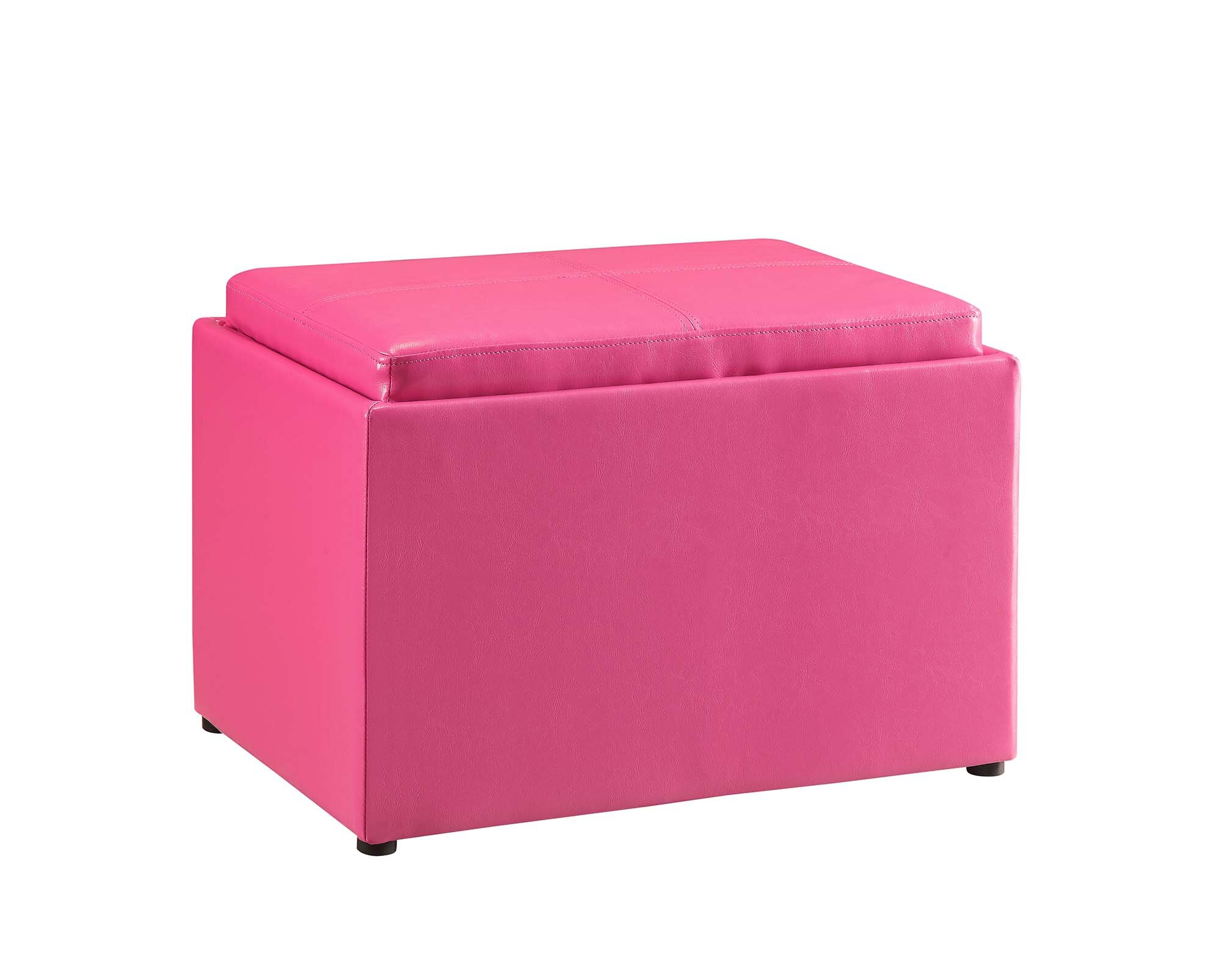 Pink Small Storage Ottomans You Ll Love In 2021 Wayfair