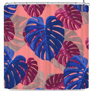 Mukta Lata Barua Leaf Drama Single Shower Curtain