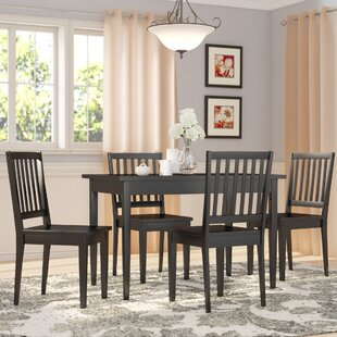 Barryknoll 5 Piece Dining Set Three Posts