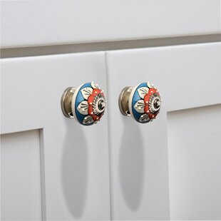 Stone Pattern Cabinet Round Knob (Set of 8)