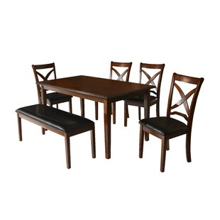 Charlton Home Hohl 6 Piece Dining Set