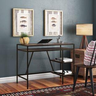 Union Rustic Politte Rectangular Writing Desk
