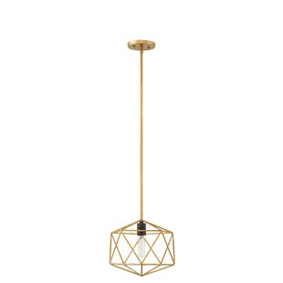 Athens 1-Light Geometric Pendant