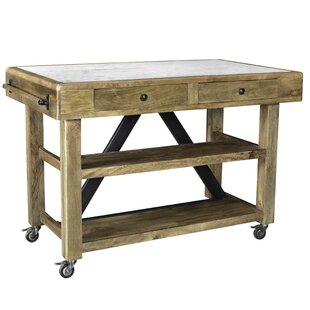 Foret Kitchen Island Loon Peak