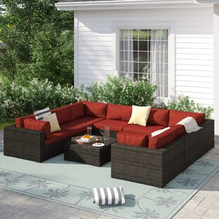 Barwick 9 Piece Sectional Set with Cushions