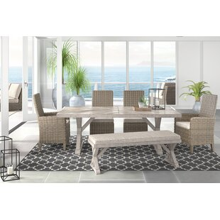 Greyleigh Farmersville 6 Piece Dining Set