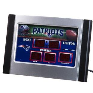 NFL Scoreboard Desk Clock ByTeam Sports America