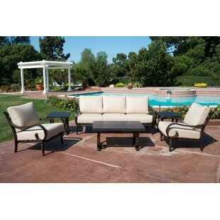 Columbia Seating Group with Sunbrella Cushions by Fleur De Lis Living