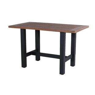 Sophie Teak And Aluminium Bar Table By Hartman