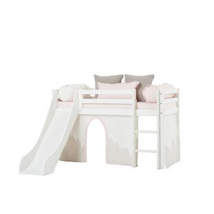 Basic Winter Wonderland Bunk Bed With Curtain By Hoppekids