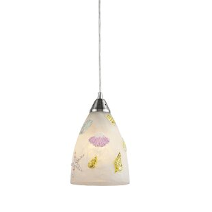 Highland Dunes Caudle 1-Light Cone Pendant