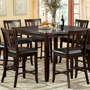 Mora Square Counter Height 7 Piece Pub Table Set