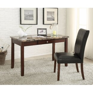 Winston Porter Forgey Writing Desk and Chair Set