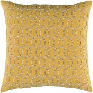 Bold Cotton Throw Pillow Cover