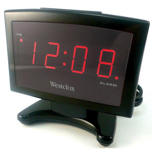 Westclox Electric Plasma Led Alarm Clock Reviews Wayfair
