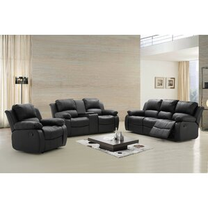 Phoenix 3 Piece Living Room Set by Living In Style