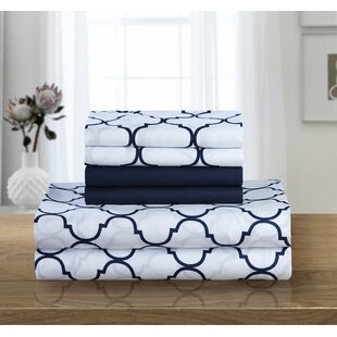 Hargrave 6 Piece Microfiber Sheet Set