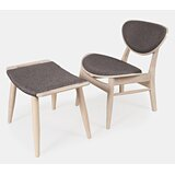 Bogue 18.25 Side Chair And Ottoman by Ebern Designs