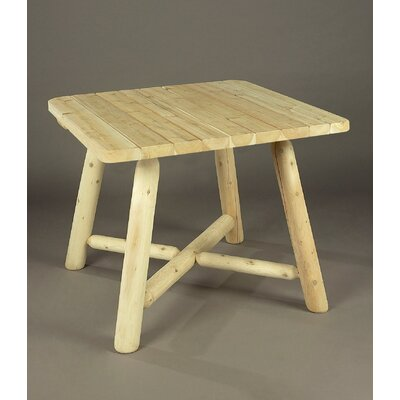 Solid Wood Dining Table Rustic Natural Cedar Furniture