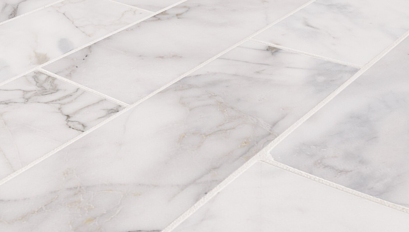 Msi calacatta cressa honed 4 x 12 marble subway tile in white calacatta cressa honed 4 x 12 marble subway tile dailygadgetfo Gallery