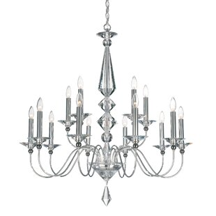 Jasmine 15-Light Chandelier by Schonbek