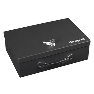 Cash Box with Key Lock by Honeywell
