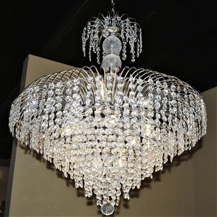 House of Hampton Carson 14-Light Crystal Chandelier