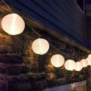 Marlborough Solar LED 12.5 Ft. 20-Light Lantern String Light By Freeport Park