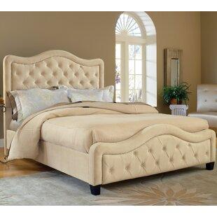 Willa Arlo Interiors Lindsey California king Upholstered Panel Bed