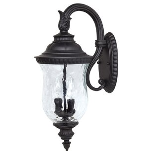 Watts 2-Light Outdoor Wall Lantern by Charlton Home