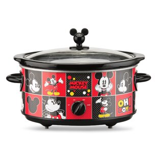 5 Qt. Mickey Slow Cooker by SelectBrands Great price